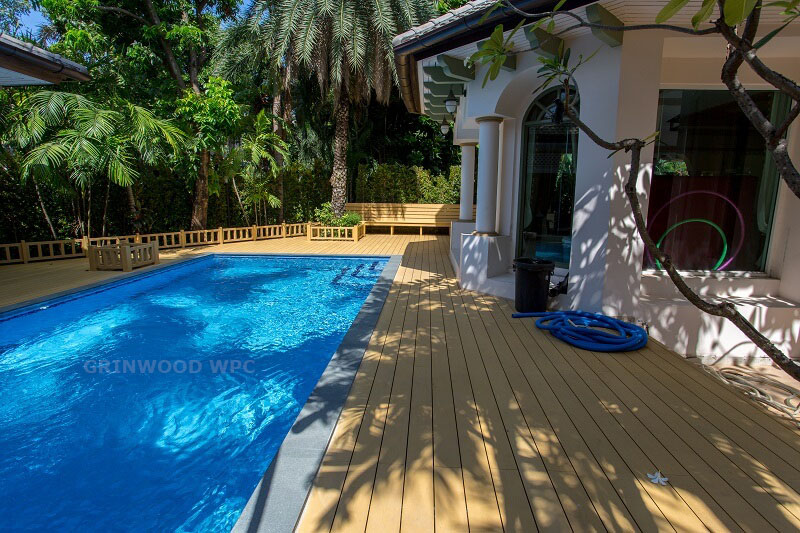 composite swimming pool board | wpc flooring
