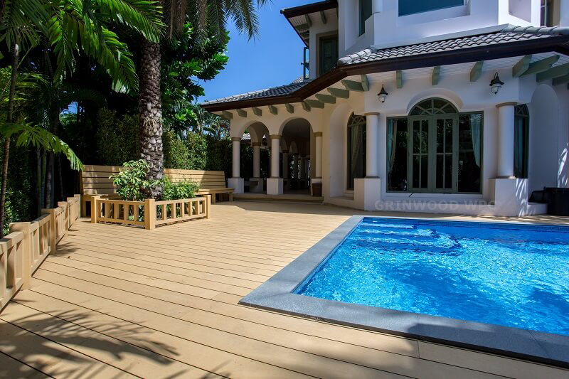 decoration decking board | wpc board