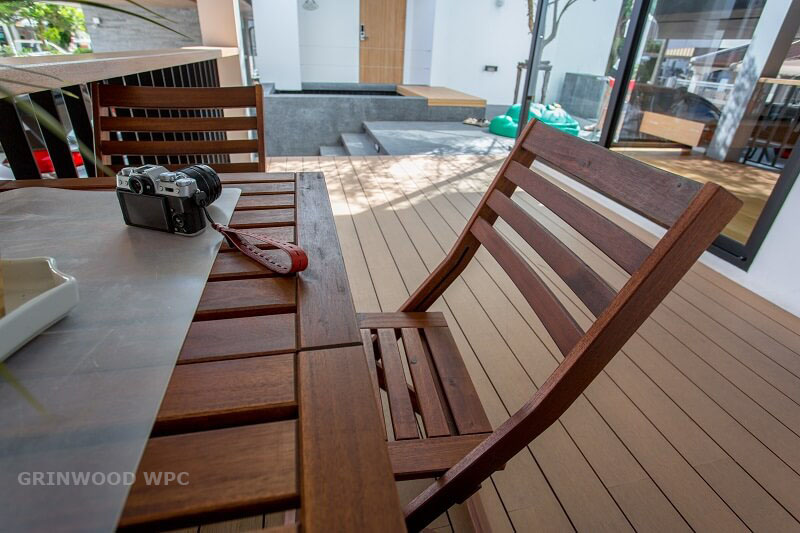 building material of project wood plastic | wpc engineered floor