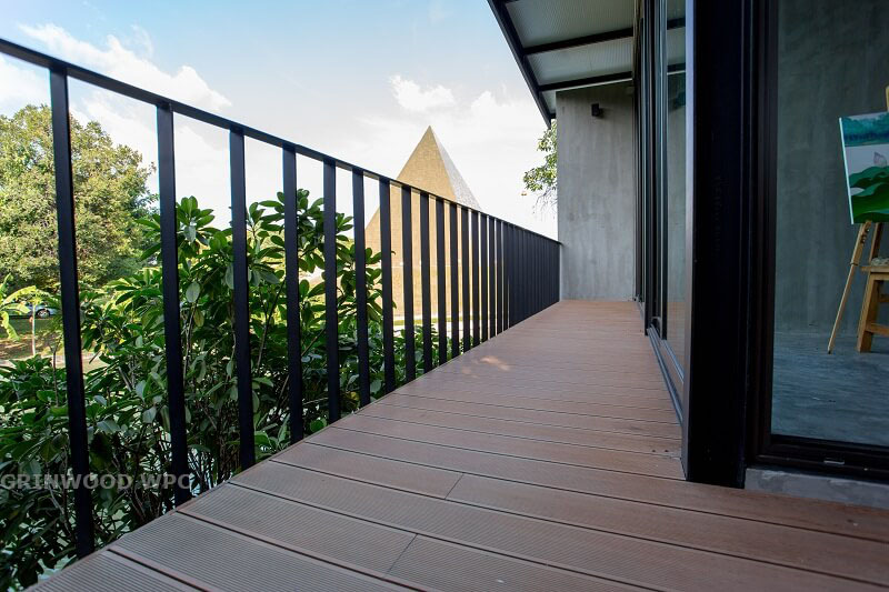 with UV resistance fo 15 years warranty | wpc decking